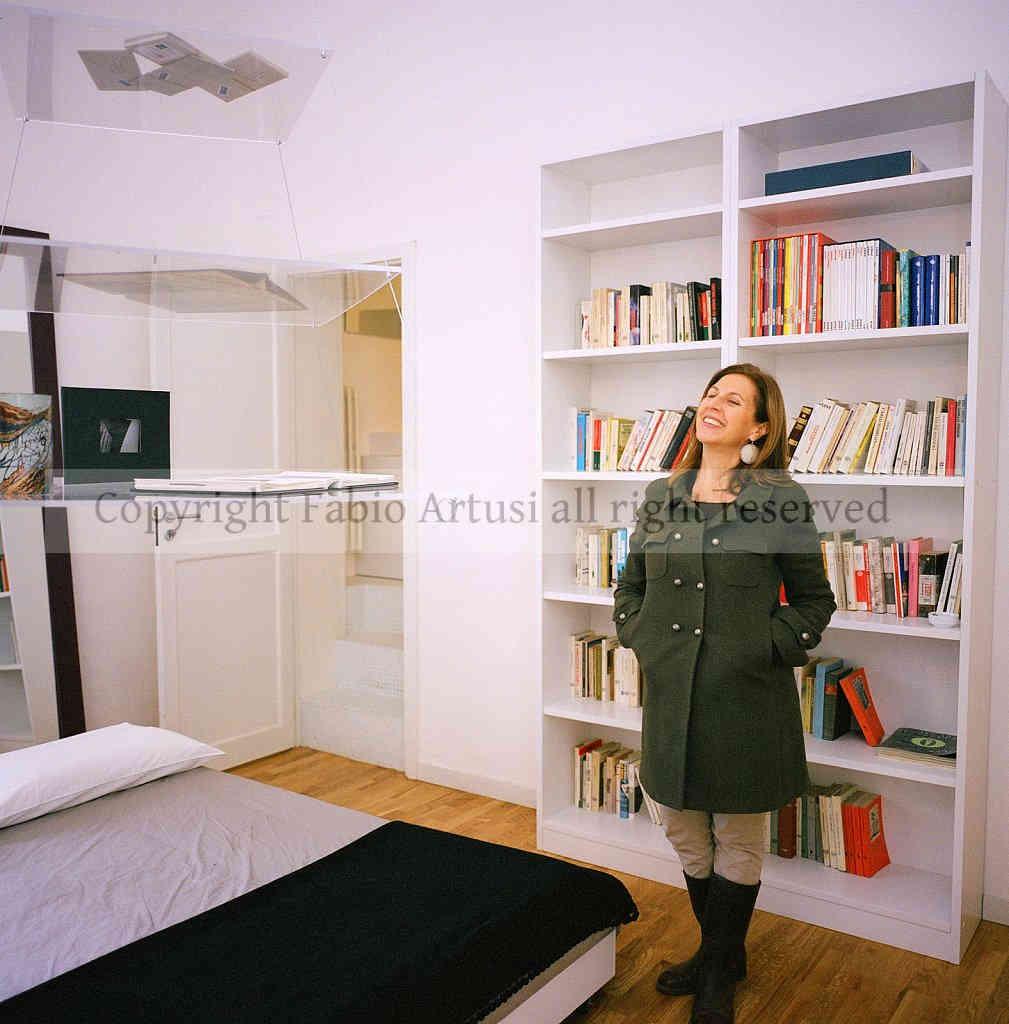 nietta bruno - ha creato la Casa del Poeta luogo di lettura e me